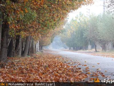 پاییز در شهریار