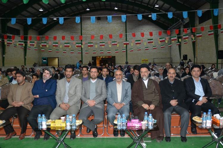 جشن انقلاب در شهر ملارد با حضور شهروندان و مسئولین برگزار شد