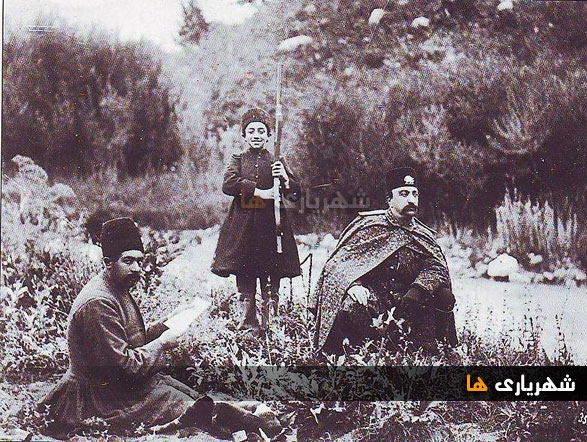 برگی از خاطرات ناصرالدین شاه در باب شهریار