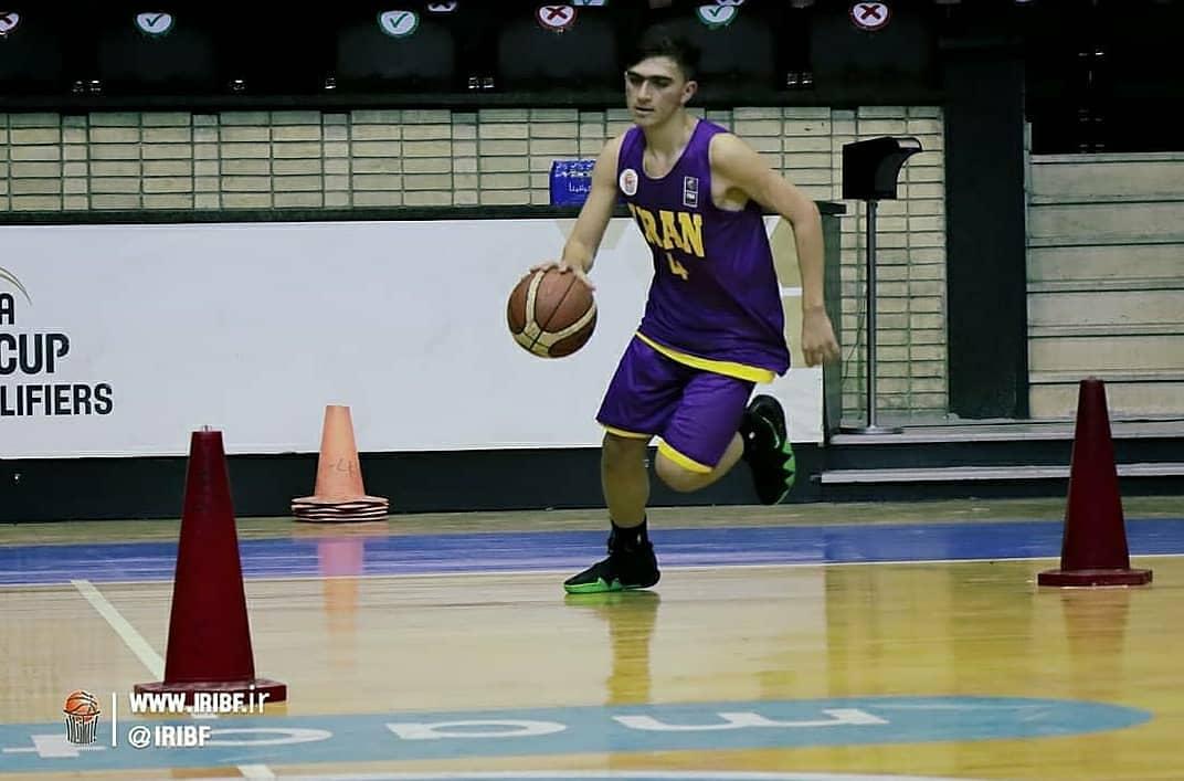 درخشش بسکتبالیست شهریاری در مسابقات مهارتهای فردی زیر ۱۵ سال آسیا