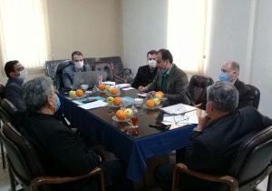 نشست مدیرصندوق بیمه اجتماعی روستائیان با کارگزاران غرب استان تهران برگزار شد