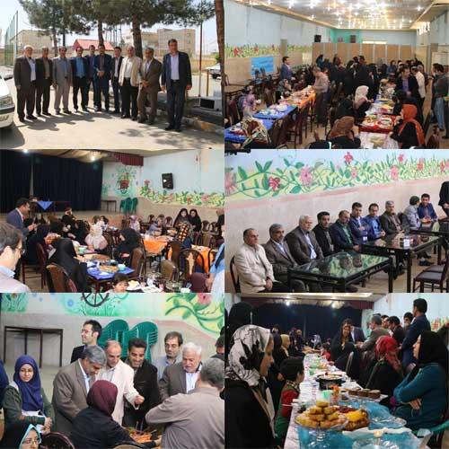 برگزاری جشنواره غذای سالم هفته سلامت
