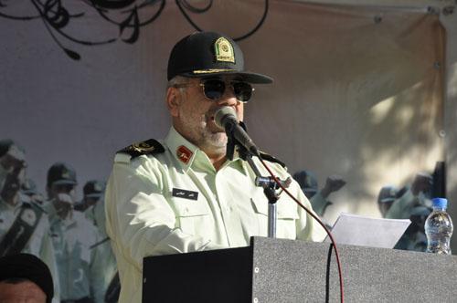 سردار اصلانی : برگزاری 217 برنامه ویژه هفته نیروی انتظامی