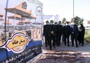 افتتاح پروژه های عمرانی شهرداری قدس به مناسبت هفته دولت