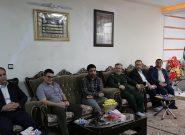 دیدار علیرضا دبیر رئیس فدراسیون کشتی از خانواده شهید مصطفی صدرزاده