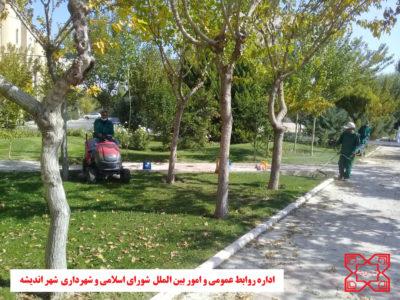شهردار اندیشه : عملیات سم پاشی درختان شهر اندیشه آغاز شد