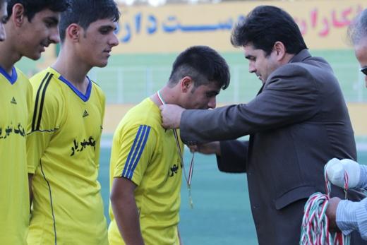 مسابقه نمادین قهرمان جوانان و نوجوانان لیگ فوتبال شهریار برگزار شد
