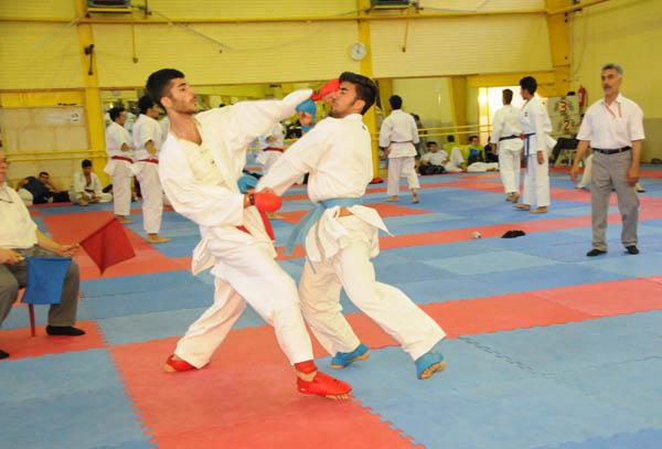 تیم هیئت کاراته شهرستان شهریار در مکان چهارم گروه دو لیگ آینده سازکشور