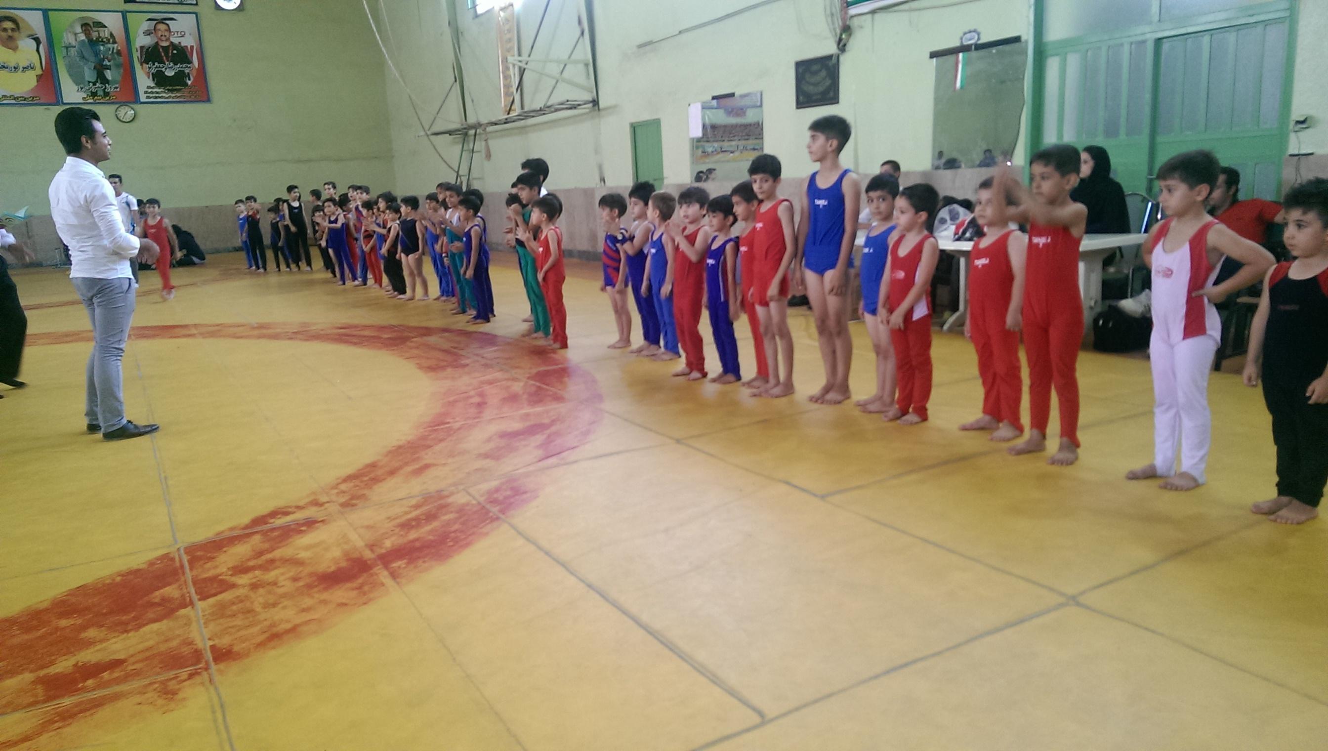 مسابقات استعدادیابی ژیمناستیک در شهریار پایان یافت