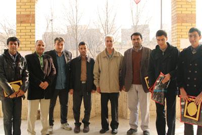از جوانان ورزشکار حضور یافته در مسابقات قرآنی استان تهران تقدیر شد