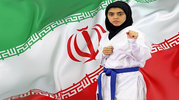 مصاحبه سایت فدراسیون کاراته با بهنوش محمدی ملی پوش شهریاری