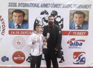 بوکس احمد کومرت؛ دومین مدال نقره به بوکسور ملاردی رسید