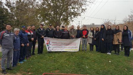 برگزاری همایش پیاده روی گرامیداشت هفته بسیج در ملارد
