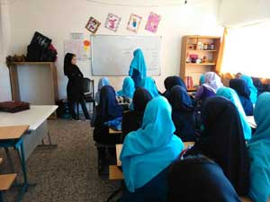 برگزاری کلاس پیشگیری از اعتیاد ویژه دانش آموزان در شهرستان ملارد