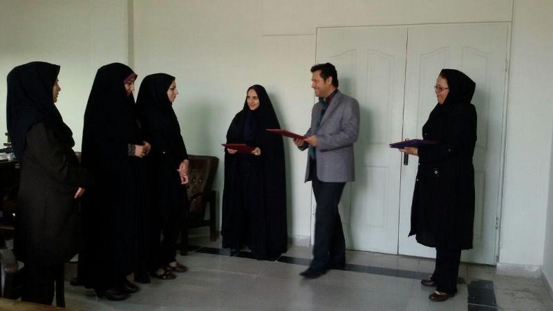 تقدیر از بانوان با حجاب برتر بهزیستی شهرستان ملارد