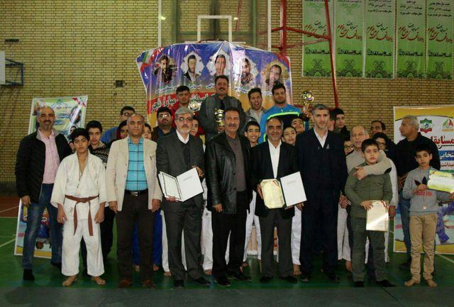 برگزاری مسابقات جودو انتخابی نونهالان استان تهران به میزبانی شهرستان شهریار