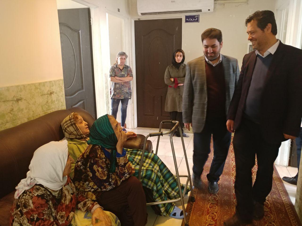 بازدید مسئولین استانی از مراکز توانبخشی شهرستان ملارد