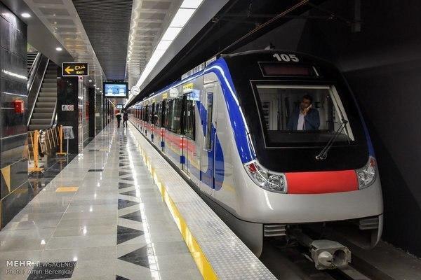 اعمال نرخ جدید بلیت های متروی تهران و حومه از اول خرداد ۹۹