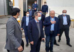 بازدید استاندار تهران از بخشهای مختلف شرکت کاله در باغستان