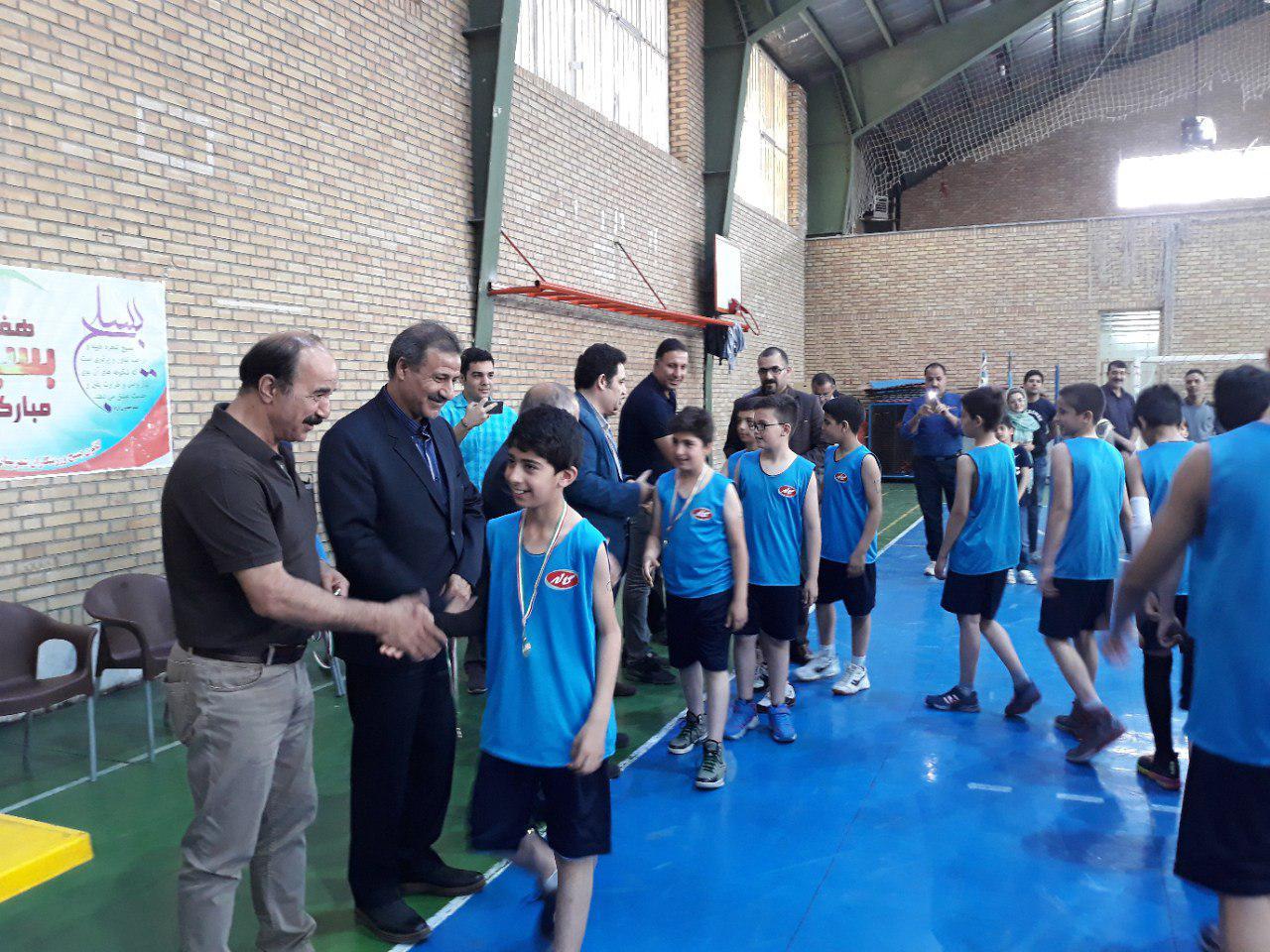 مسابقات لیگ میکرو و مینی بسکتبال شهرستان شهریار برگزار شد