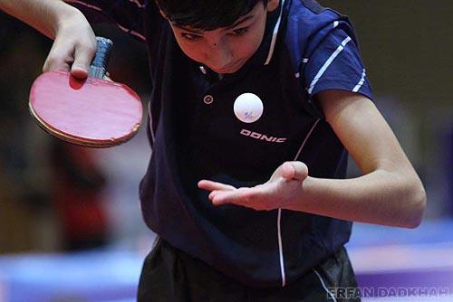 مقام نخست دانش آموزان شهریاری در مسابقات تنیس روی میز استان تهران