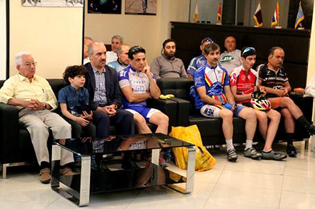همایش پیشکسوتان دوچرخه سواری استان تهران با حضور قمری