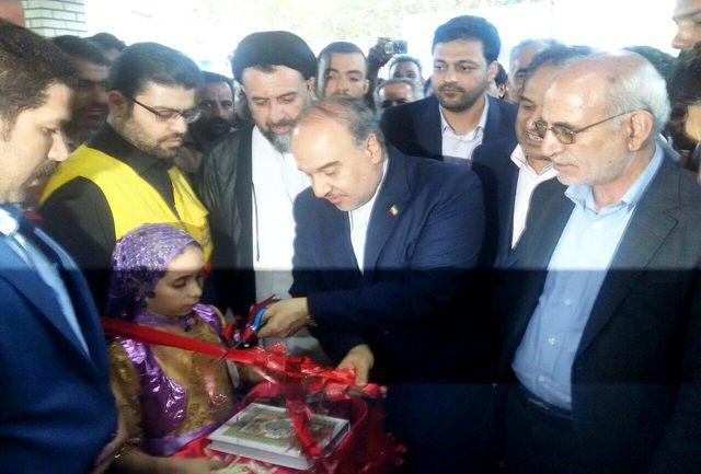 افتتاح سالن چند منظوره شهدای مهرآذین ملارد به مناسبت هفته دفاع مقدس