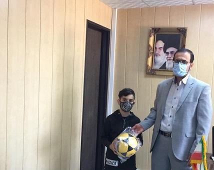 تجلیل از نفرات برگزیده ورزش در خانه، پویش سلامتی در شهرستان قدس