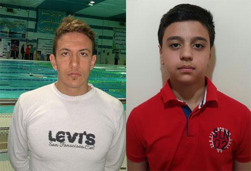 حضور دو ورزشکار شهریار در تیم ملی شنا