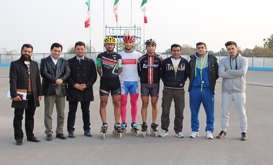 بازدید سرپرست هیات اسکیت استان تهران از اردوی تیم ملی سرعت جوانان