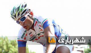 محسن رمضانی عضو تیم ملی دوچرخه سواری ایران