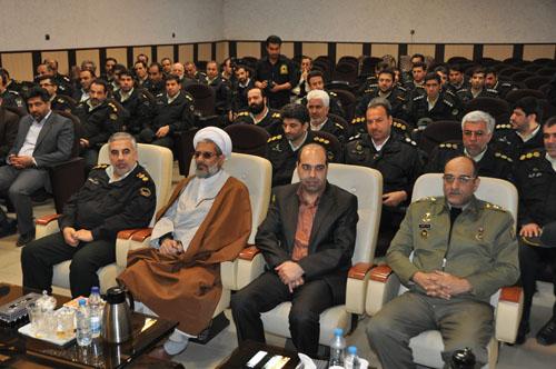 فرمانده نیروی انتظامی شهریار تودیع شد
