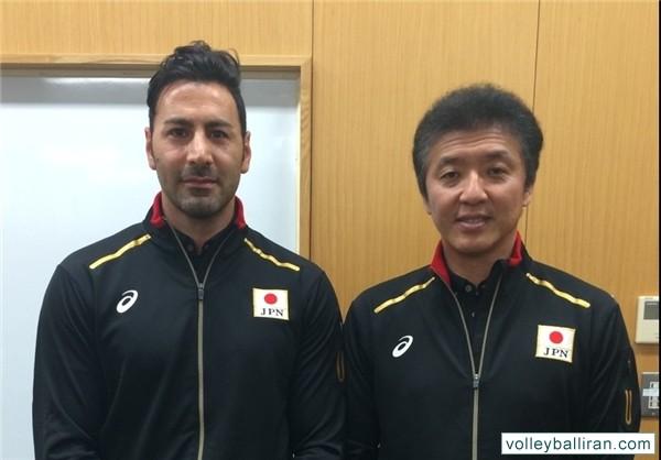 قطع همکاری مساجدی با تیم ملی والیبال ژاپن