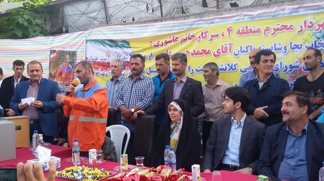 صحبت های پاکبان نارنجی پوش از نظافت سرویس های بهداشتی تا شورای شهر رشت
